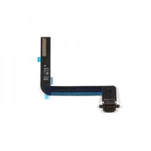 Charging Port Flex Cable for iPad Air / iPad 5 / iPad 6 - Black