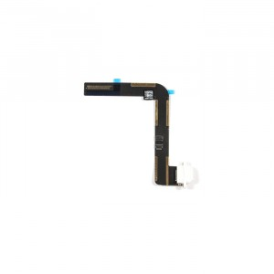Charging Port Flex Cable for iPad Air - White