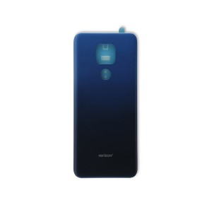 Back Cover for Moto G Play (2021) (XT2093-2) (Authorized OEM) - Misty Blue