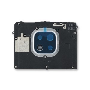 Midframe (Top Carrier) for Moto G Power (2021) (XT2117) (Authorized OEM) - Hazy Silver