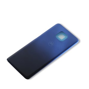 Back Cover for Moto G Power (2021) (XT2117) (Authorized OEM) - Glowing Blue