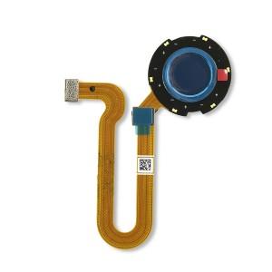 Fingerprint Sensor for Moto One Hyper (XT2027-1) (Authorized OEM) - Blue