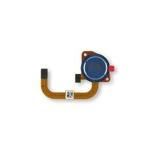 Fingerprint Scanner for Moto G Play (2021) (XT2093) (Authorized OEM) - Misty Blue