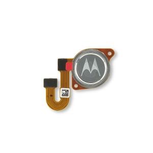 Fingerprint Scanner for Moto One Ace 5G (XT2113) (Authorized OEM) - Hazy Silver