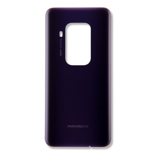 Back Glass for Moto One Zoom (XT2010-1) (Authorized OEM) - Purple