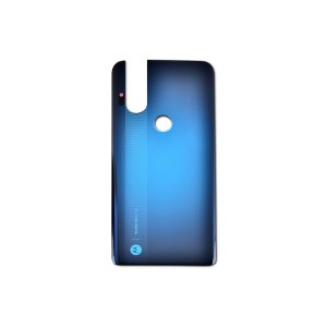 Back Cover for Moto One Hyper (XT2027-1) (Authorized OEM) - Blue