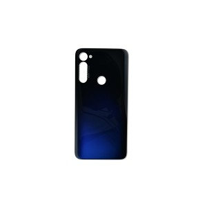 Back Glass for Moto G Stylus (XT2043) (Authorized OEM) - Graphene Blue