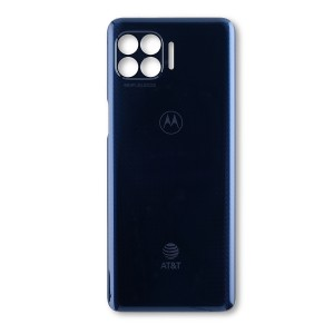 Back Cover for Moto One 5G (XT2075-1 / XT2075-2) (AT&T) (Authorized OEM) - Prussian Blue