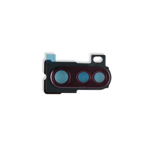 Rear Camera Lens Bezel for Moto Edge+ (XT2061) (Motorola Authorized) - Sangria