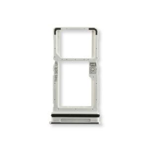 Sim Tray for Moto One Ace 5G (XT2113) (Authorized OEM) - Hazy Silver