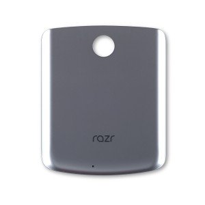 Back Cover for Razr (2020) (XT2071) (Authorized OEM) - Silver