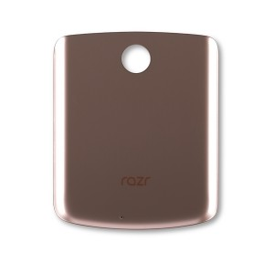 Back Cover for Razr (2020) (XT2071) (Authorized OEM) - Gold
