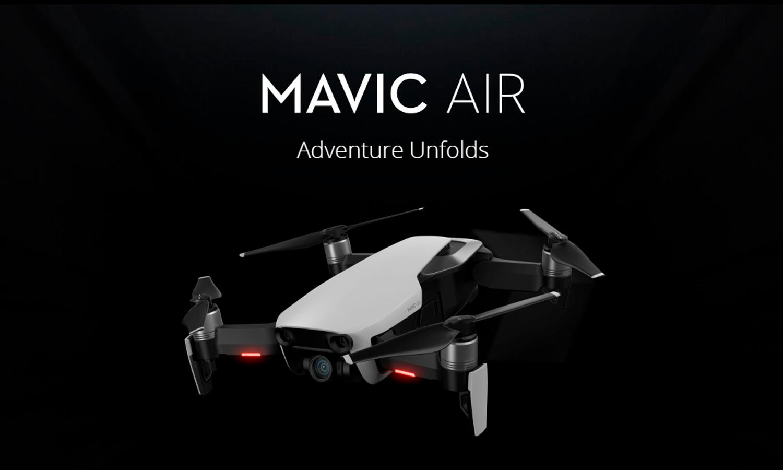 Mavic Air : Adventure Unfolds