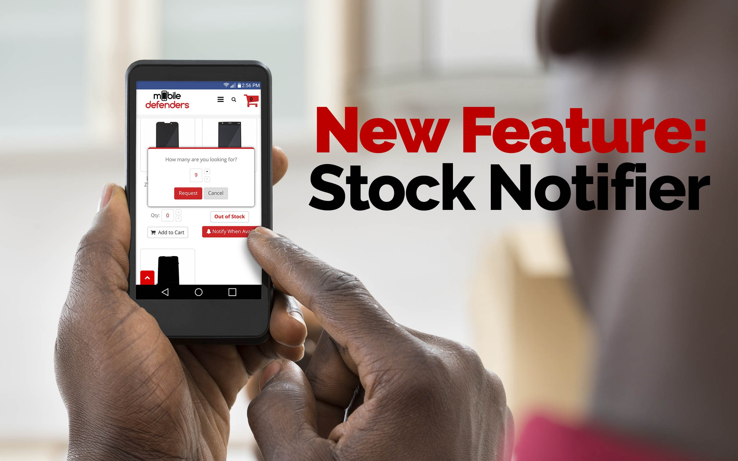 [NEW FEATURE] In-Stock Notification