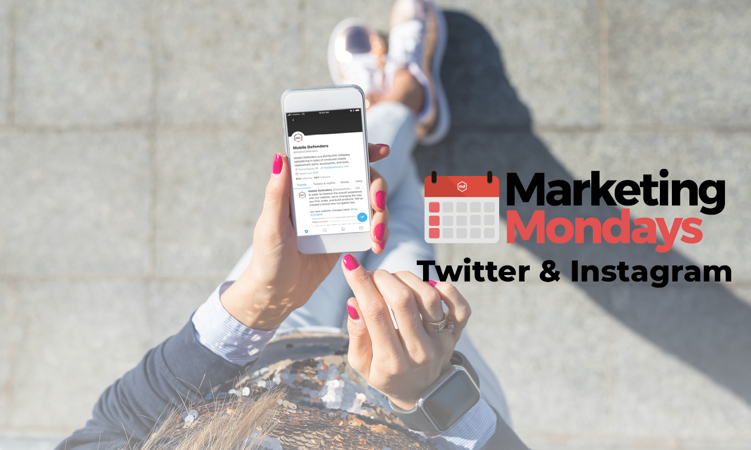 Marketing Mondays: Instagram & Twitter