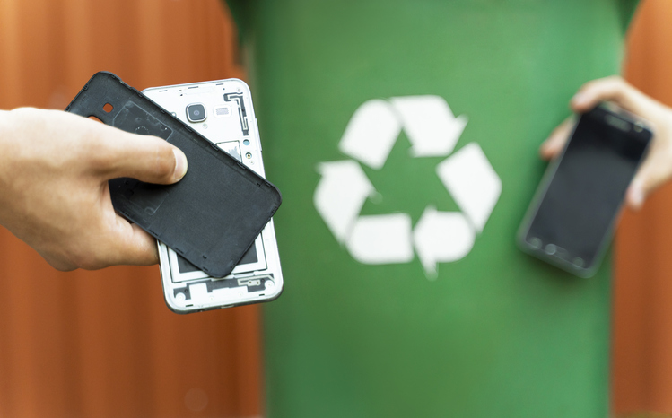 Phone Battery Recycling