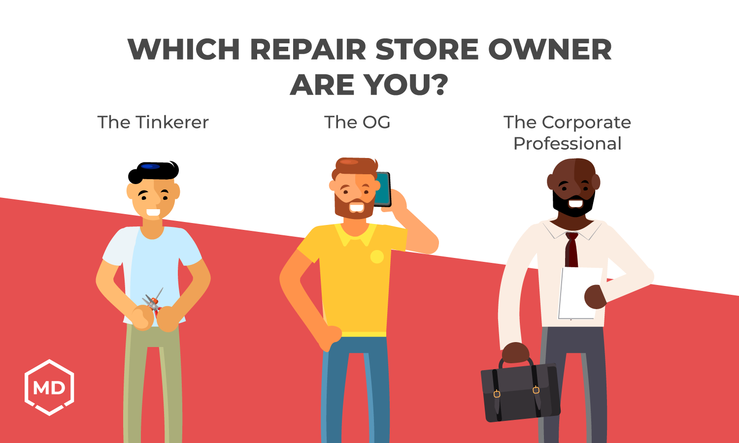 Which Repair Store Owner are You?