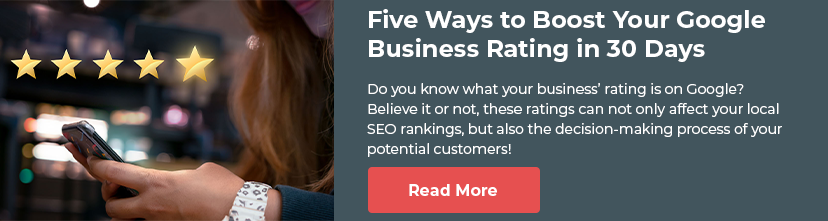 Five Ways to Boost Your Google Business Rating in 30 Days
